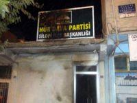 HÜDA-PAR Silopi İlçe Başkanlığına Saldırı