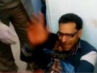 Oğlunun Cesedini Saatlerce Kucağında Taşıdı (VİDEO)