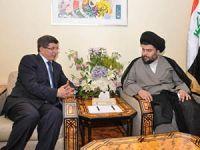 Davutoğlu Irak'ta Sadr İle Görüştü