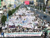 Yemen'de Husilerin Yaptığı Katliama Protesto