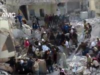 Esed Halep'i Varil Bombasıyla Vurdu