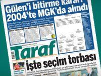 Başbakanlık, MGK ve MİT'ten Taraf'a Suç Duyurusu