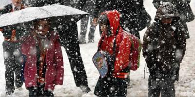 11 İlde Eğitime Kar Tatili
