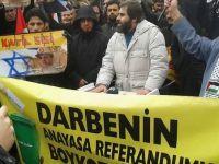 Ankara'da Mursi'ye Destek, Referanduma Boykot Eylemi
