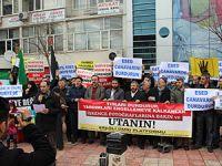 Kdz. Ereğli'de Baas Protestosu Yapıldı