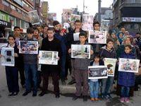 Zonguldak'ta Baas Protestosu