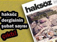 Haksöz Dergisi Şubat 2014 Sayısı Çıktı