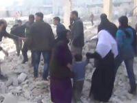 Dera'da Varil Bombalı Saldırı