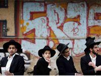 Dindar Yahudilerden Askerlik Karşıtı Eylem (FOTO)
