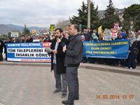 Amasya'dan İzzetli Suriye Halkına Bin Selam