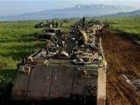 Golan'a Asker Sevkiyatı