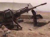 Ele Geçirilen Esed'e Ait Tank Deposu Görüntüleri