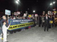 Cuntanın İdam Kararları Sivas'ta Protesto Edildi