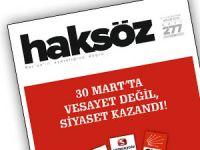 Haksöz Dergisinin Nisan Sayısı Çıktı