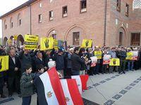 Ankara'da Sabah Namazında Mısır İçin Toplandılar
