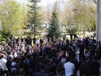 Erciyes Üniversitesinde İdam Kararlarına Protesto