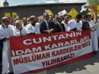 Diyarbakır'da İdam Kararları Protesto Edildi