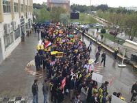 Uludağ Üniversitesi'nde Mısır Eylemi Yapıldı