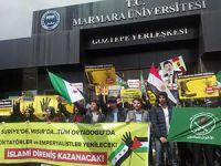 Marmaralı Müslümanlar Suriye ve Mısır Direnişini Selamladı!