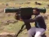 Esed Askerlerinin Muhaliflerin Füzesinden Kaçışı