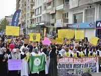 Liseliler'den Batman'da 529 İdam Protestosu