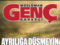 Müslüman Genç Davetçi'nin Yeni Sayısı Çıktı
