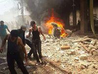 Esed Güçleri Duma'yı Bombaladı (FOTO-VİDEO)