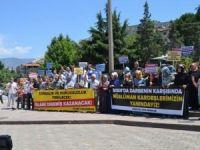 Sisi Cuntası Amasya'da Protesto Edildi