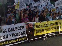 Ankara Mısır Elçiliği Önünde Darbe Protestosu (FOTO)