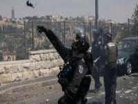 Siyonist İsrail Gazze'de 10 Noktayı Vurdu
