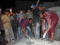 Esed Güçleri Teravih'te Camiye Saldırdı: 15 Şehit (VİDEO)