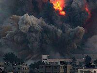 Hava Saldırıları Sonrası Gazze'den Görüntüler