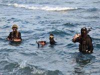 İsrail'e Denizden Çıkarma Yaptılar (VİDEO)