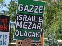 Siyonistlerin Gazze Katliamı Amasya'da Protesto Edildi