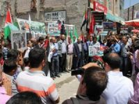 Siyonist İsrail'in Katliamları Ağrı'da Lanetlendi