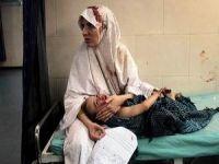 Katil İsrail Mülteci Kampını da Vurdu