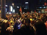 Türkiye Dün Gece Gazze İçin Ayaktaydı