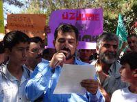 Siverek'te Siyonist Çete Protesto Edildi