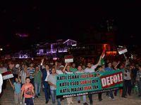 Amasya Halkı Gazze İçin Haykırdı