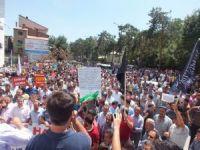 Tatvanlı Müslümanlardan Gazze'ye Destek Yürüyüşü