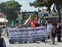 Çorum'dan Gazze ve Suriye Direnişine Destek Eylem