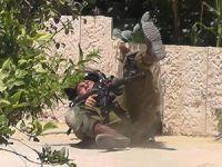 İşgalci Komando Böyle Yuvarlandı (FOTO)