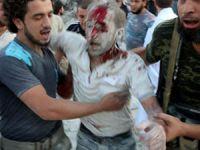 Esed, Dün Suriye'de 84 Kardeşimizi Katletti (VİDEO)