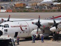 Yaralı Gazzeliler Türkiye'ye Getirildi
