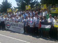 Sakarya'da Rabia Direnişi Selamlandı