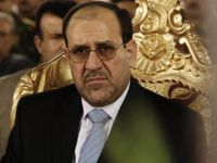 Irak Cumhurbaşkanı Yardımcısı Nuri Maliki Protesto Edildi