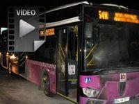 Halk İçin Halk Otobüsünü Molotofluyorlar