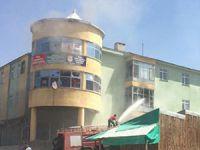Varto'da AK Parti İlçe Binası Ateşe Verildi