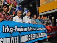 Muhacirlere Yönelik Saldırılar Diyarbakır'da Protesto Edildi