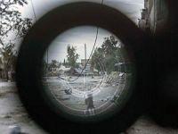 Suriye'de Keskin Nişancı Düellosu (Video)